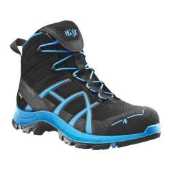 Ботинки Black Eagle Safety 40 mid Black Blue 2 сорт | HAIX