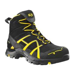 Ботинки Black Eagle Safety 40 mid Black Yellow 2 сорт | HAIX
