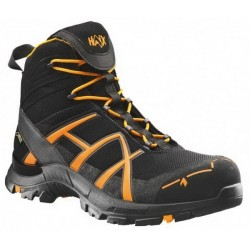 Ботинки Black Eagle Safety mid 40 Orange Black | HAIX