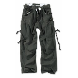 Брюки Vintage Fatigue Trousers Black | Surplus