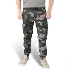 Брюки Premium Slimmy Black Camo | Surplus