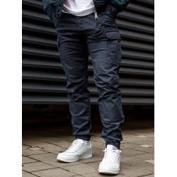 Брюки Vince Cargo Jogger 1036 Navy Blue | Vintage Industries