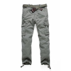 Брюки Vintage Cargo Olive Light | Abercrombie & Fitch