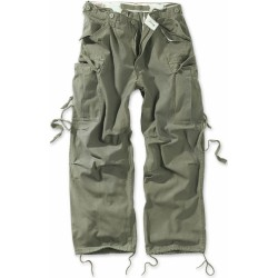 Брюки Vintage Fatigue Trousers Olive | Surplus