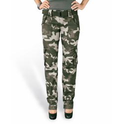 Брюки Женские Ladies Premium Trousers Slimmy Blackcamo | Surplus