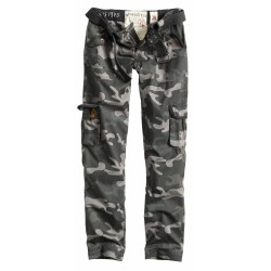 Брюки Женские Ladies Premium Trousers Slimmy Black camo | Surplus