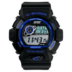 Часы милитари C-Shock Black Blue | SKMEI