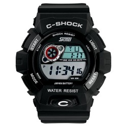 Часы милитари C-Shock Black | SKMEI