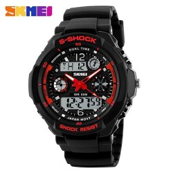 Часы милитари Force Black Red | SKMEI