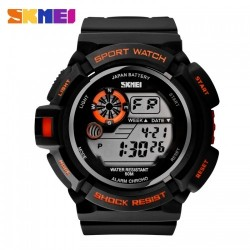 Часы милитари Strike Black Orange | SKMEI