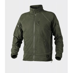 Кофта флисовая Alpha Tactical Olive Green | Helikon- Tex