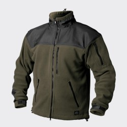 Кофта флисовая Classic Army Olive Green/Black | Helikon-Tex