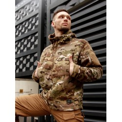 Кофта флисовая Patriot Camogrom | Helikon-Tex