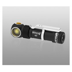 Фонарь налобный Wizard Pro Magnet USB NICHIA LED Warm Light | ArmyTek