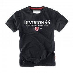 Футболка DIVISION 44 TS143 Black | Dobermans Aggressive