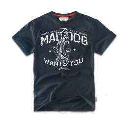 Футболка MAD DOG Navy TS69 | Dobermans Aggressive