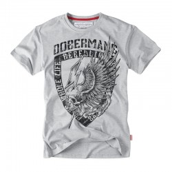 Футболка DOBERMANS TS164 Grey | Dobermans Aggressive