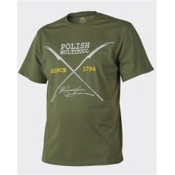 Футболка Polish Multitool U.S. Green | Helikon- Tex