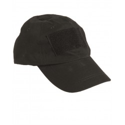 Кепка Tactical Baseball Cap Black | Mil-Tec