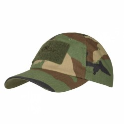 Кепка Tactical Baseball US Woodland | Helikon-Tex