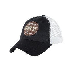 Кепка TRUCKER Logo Black / White | Helikon-Tex