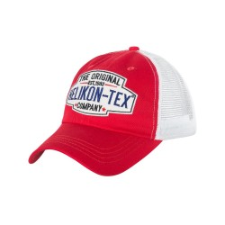 Кепка TRUCKER Logo Red / White | Helikon-Tex