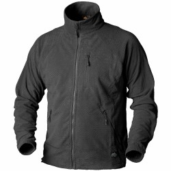 Кофта флисовая Alpha Tactical Black | Helikon-Tex