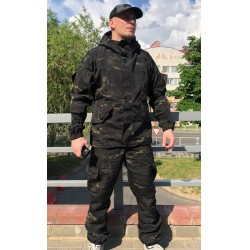 Костюм Горка 5 Стандарт Black Multicam | Grizzly
