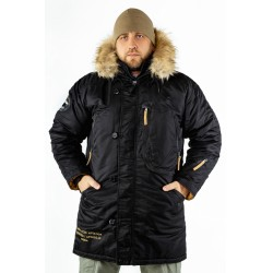 Куртка Аляска Expedition Black/Cinnamon | Apolloget