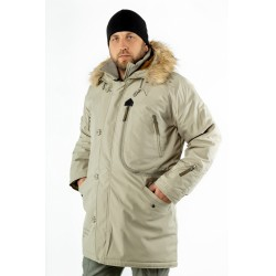 Куртка Аляска Expedition Silver green/ Military Olive | Apolloget
