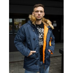 Куртка Аляска HUSKY Rep.Blue/Orange | Nord Denali