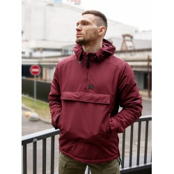 Куртка-Анорак Hopwood 2209 Burgundy | Vintage Industries