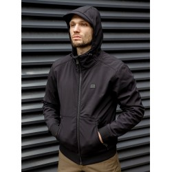 Куртка Ashore softshell 30102 Black | Vintage Industries
