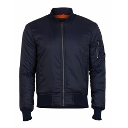 Куртка Basic Bomber Jacket Navy | Surplus