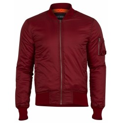 Куртка Basic Bomber Jacket Red | Surplus