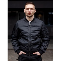 Куртка Бомбер Westford MA1 2081 Black | Vintage Industries