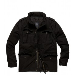 Куртка Capper parka 2204 Black | Vintage Industries