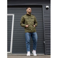 Куртка Ground 2203 Olive | Vintage Industries