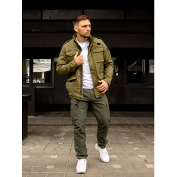 Куртка Madison jacket 25117 Olive Sage | Vintage Industries