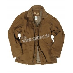 Куртка Mil-Tec WORK COAT COTTON CANVAS GEFÜTTERT