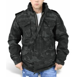 Куртка зимняя Regiment M65 Jacket Black camo | Surplus