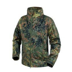 Куртка Softshell Gunfighter Flecktarn | Helikon-Tex