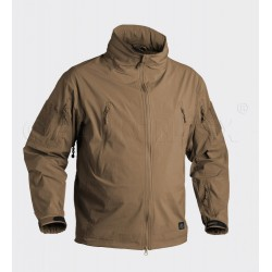 Куртка ветровка Trooper Soft Shell Mud Brown | Helikon-Tex