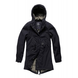 Куртка женская Britt ladies parka 25304 Midnight | Vintage Industries