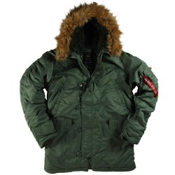Куртка Alpha Industries N-3B Parka Sage Green
