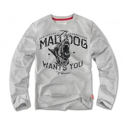 Лонгслив Mad Dog Grey LS69 | Dobermans Aggressive