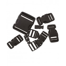 Набор пряжек Fastex BUCKLE SET Black | Mil-Tec