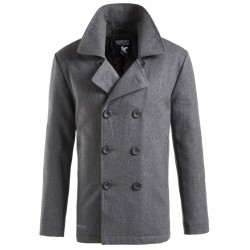 Пальто PEA COAT Grey | Surplus