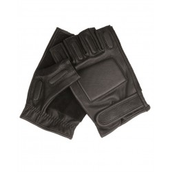 Перчатки Sec leather Black | Mil-Tec