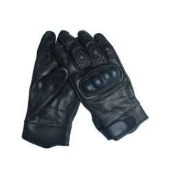 Перчатки TACTICAL LEATHER 12504102 Black | Mil-tec